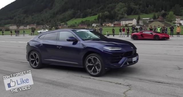Lamborghini Urus vyzvalo niekoľko superšportov na šprint