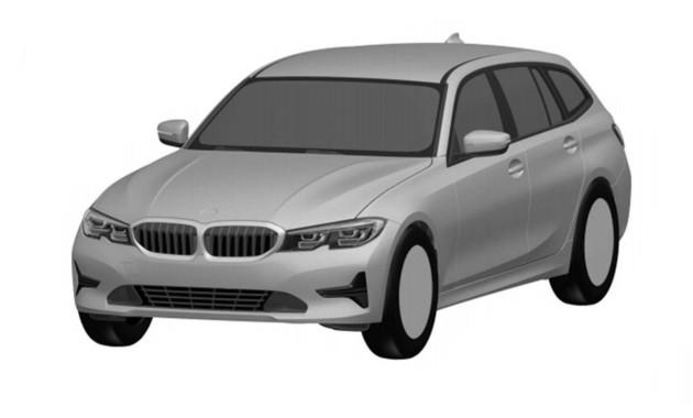Kombi BMW radu 3 bolo odhalené brazílskym patentovým úradom, ale len na patentových fotkách
