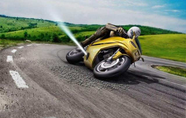 Spoločnosť Bosch predstavila asistenčné systémy pre motocykle. Jeden z nich je stabilizačná tryska