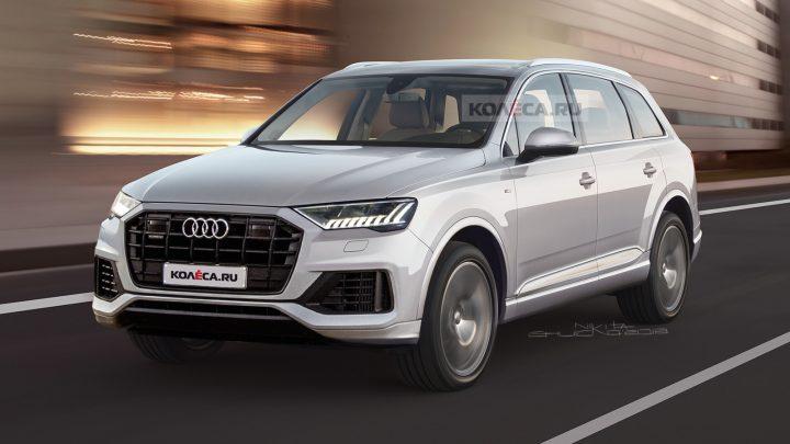 Takto by mohol vyzerať facelift druhej generácie Audi Q7