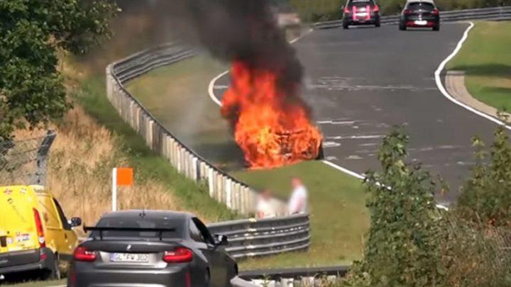 Výber nehôd na Nurburgringu za posledné tri mesiace.(Video)