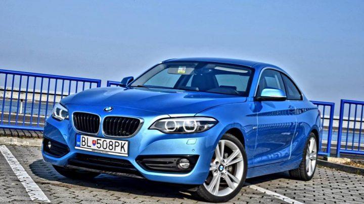 Test: BMW 220d Coupe, aj s dieslom sa dá zabaviť (Video)
