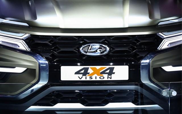 Poďme sa pozrieť na koncept Lada 4×4 Vision zo všetkých strán