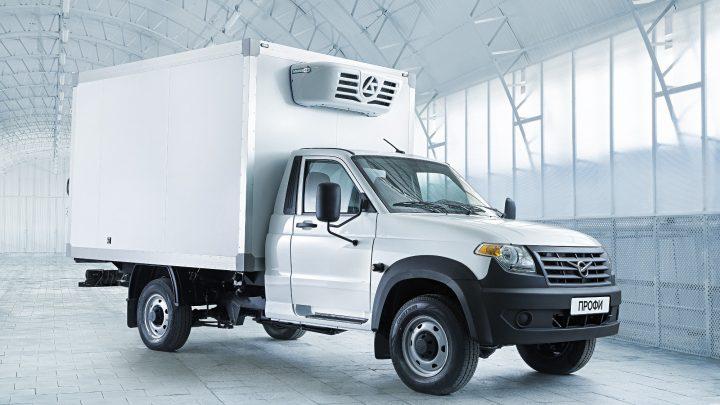 UAZ Profi sa vyrába už aj ako chladiarenské vozidlo