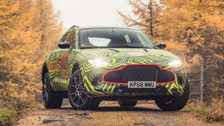 Aston Martin odhalil pár fotiek nového SUV DBX