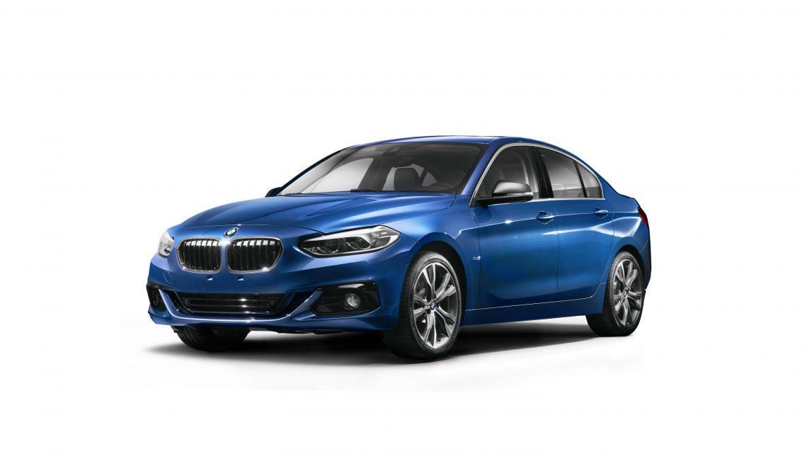 BMW radu 1 sedan sa bude predávať možno aj v Európe
