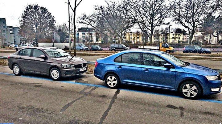 Test: Fiat Tipo 1,3 MultiJet vs Škoda Rapid 1,2 TSI, ktoré je vhodnejšie na diaľnicu?
