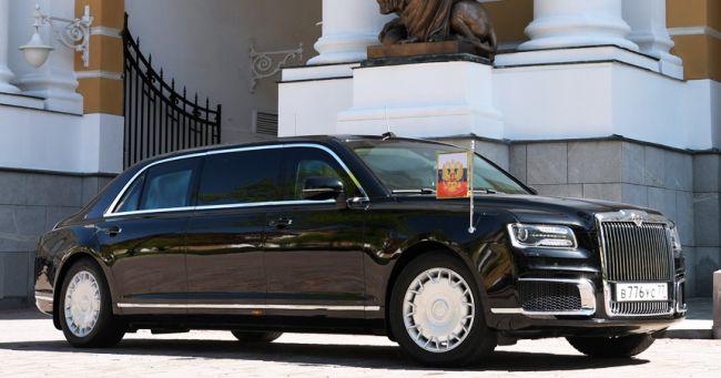 Ruské vozidlá Aurus sa ukážu na autosalóne v Ženeve v marci 2019