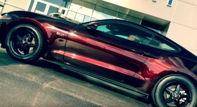 Predajca Ford v americkom Ohiu predáva Mustang GT s nitrom. Na vozidlo je poskytnutá aj záruka.