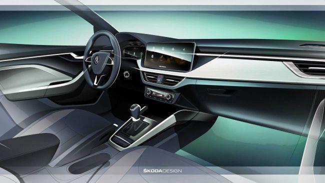 Škoda odhalila interiér nového modelu Scala