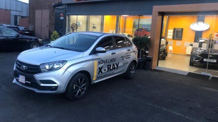 Lada X-Ray a X-Ray Cross sa dá kúpiť aj na Slovensku.