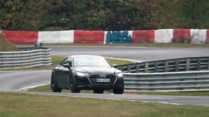 Nové Audi Rs7 bolo natočené na Nurburgringu.