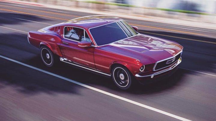 Mustang z roku 1967 na elektrinu bude budúci rok v predaji. Vyvíjajú ho v Rusku.
