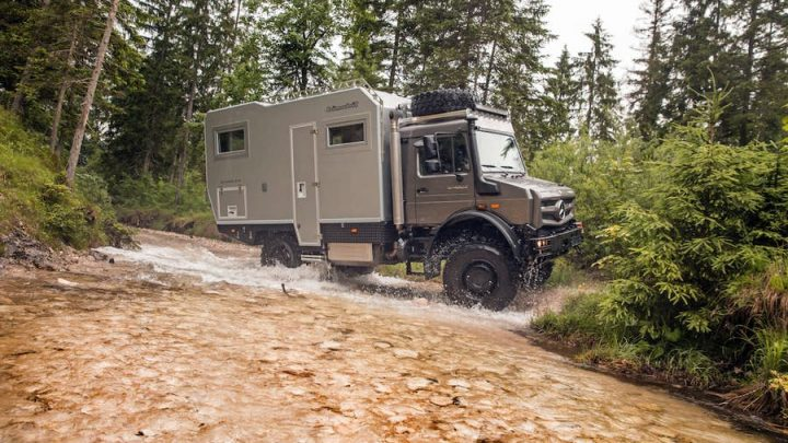 Tento terénny karavan so dostane skoro kamkoľvek.