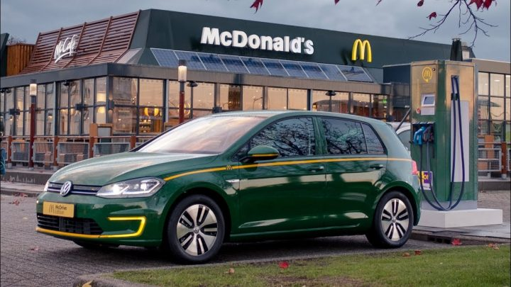 VW e-Golf McDrive Edition je určený pre milovníkov rýchleho občerstvenia McDonald's
