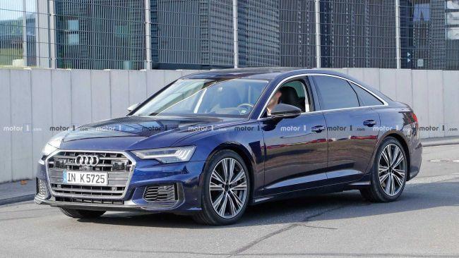 Audi S6 bolo nafotené bez maskovania. Pod kapotou bude pravdepodobne 2,9 litrový šesťvalec.