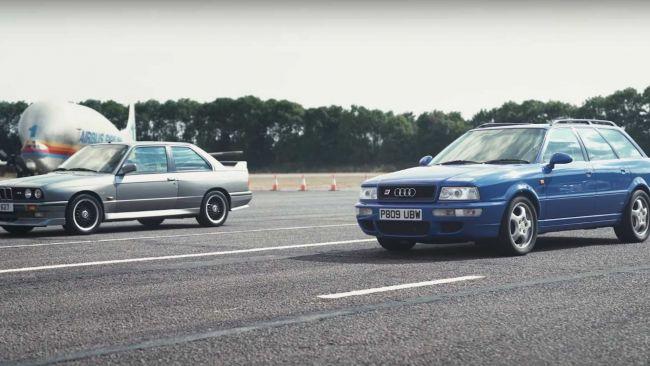 Súboj dvoch hviezd z 90. rokov. BMW M3 E30 vs Audi RS2
