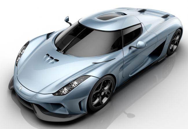 Koenigsegg Regera Rekord