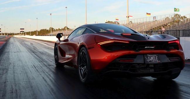 McLaren 720S zrýchlil na stovku za 2,39 sekundy. Môžu za to nové pneumatiky.