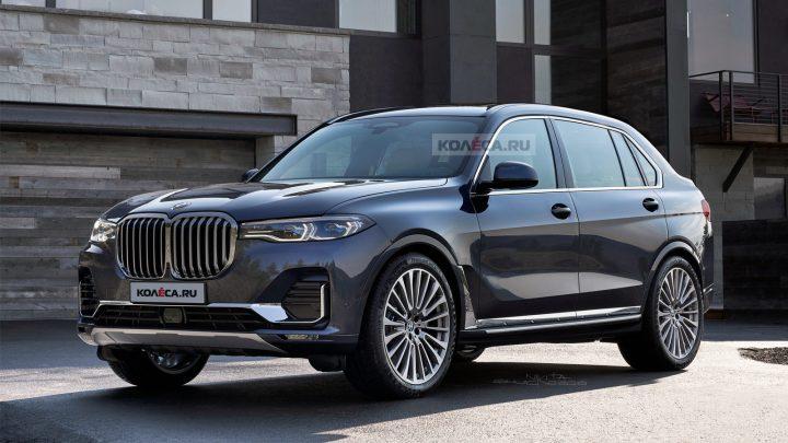 Takto by mohlo vyzerať BMW X8 G09. Pohodlie pre cestujúcich vzadu je na prvom mieste.