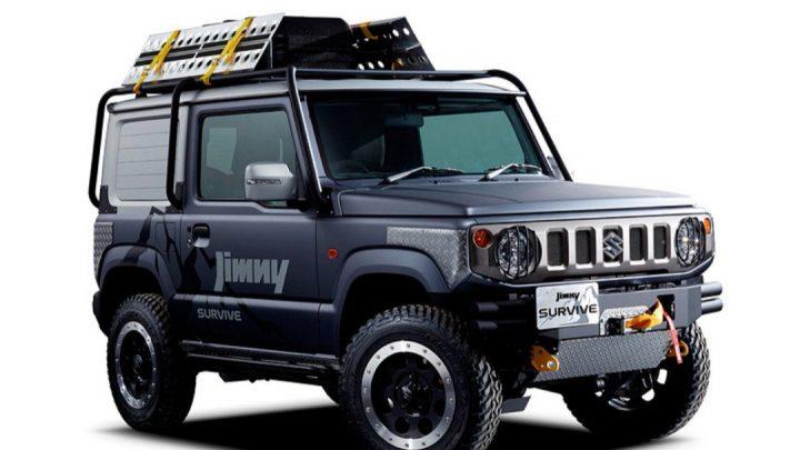 Suzuki pripravuje ďalšie dve verzie Jimmyho.
