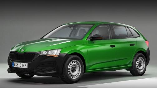 Takto by mohla vyzerať Škoda Scala Junior.