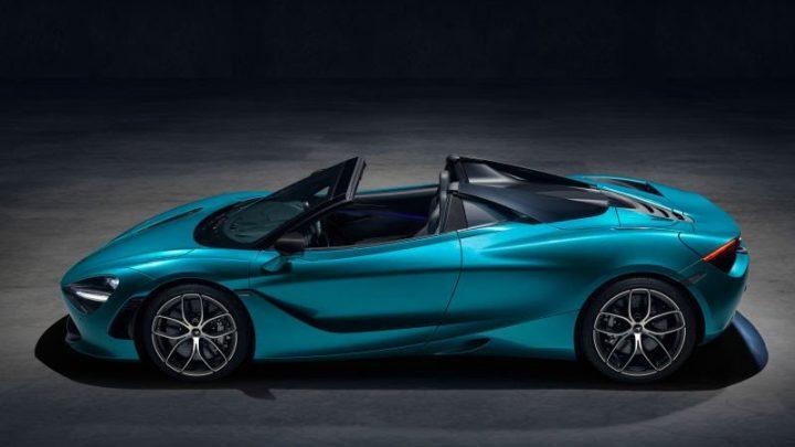 McLaren predstavil otvorenú verziu 720S Spider. Bez strechy môže ísť až 325 km/h.