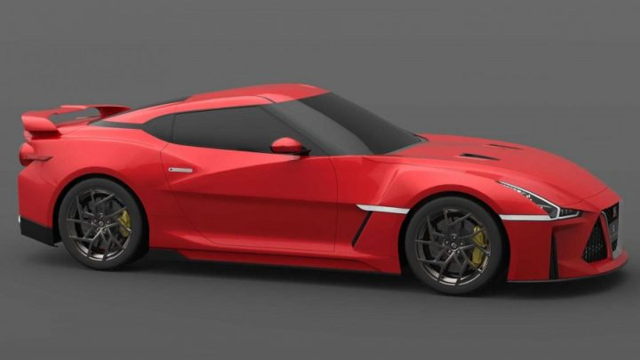 Takto by mohla vyzerať ďalšia generácia Nissan GT-R.