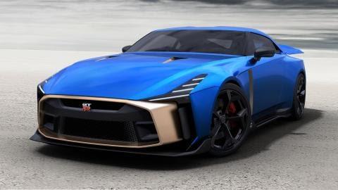 Nissan chce skoro milión eur za GT-R50. Vyrobených bude len 50 kusov.