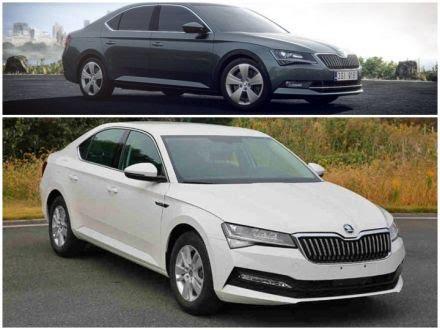 Únik odhalil facelift nového Superbu. Veľké zmeny neočakávančakávaj, no pribudne hybridná verzia.