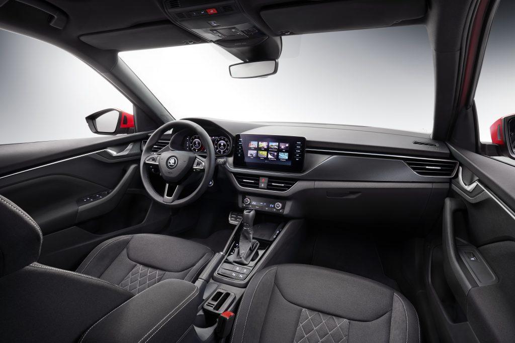Škoda Kamiq interiér