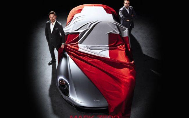 Švajčiarsky superšport Piëch Mark Zero bude predstavený na autosalóne v Ženeve.