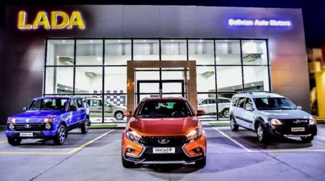 Lada prichádza na juhoamerický trh. Predaj sa zahájil v Santa Cruz.