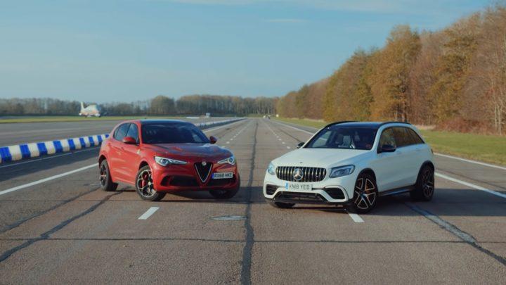 Šprint dvoch SUV. Osemvalec vs šesťvalec. Kto vyhraje?