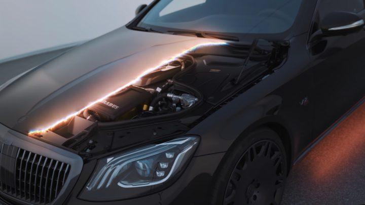 Mercedes-Maybach S650 od Brabusu má 900 koní a 1 500 Nm.