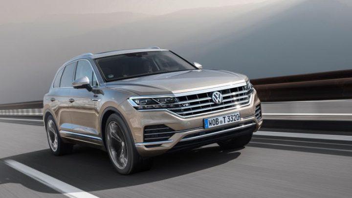 Volkswagen Touareg dostal pod kapotu dieslový osemvalec z Audi SQ7.