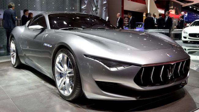 Maserati predstaví budúci rok nový športový model Alfieri.