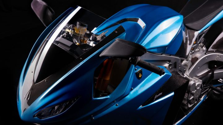 Lightning Strike je nový dostupný elektrický motocykel.