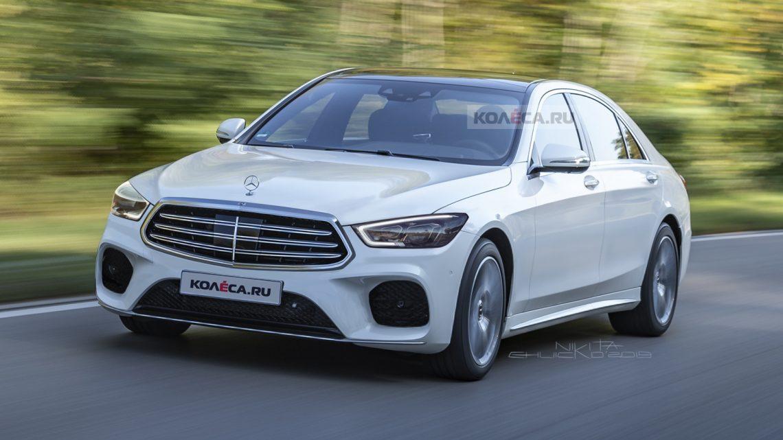 Takto by mohol vyzerať nový Mercedes-Benz triedy S.