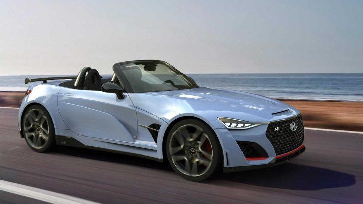 Takto by mohol vyzerať roadster od Hyundai N.