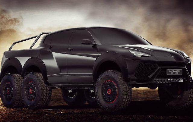 Lamborghini uvažuje nad novým modelom, ktorý bude určený prevažne do terénu.