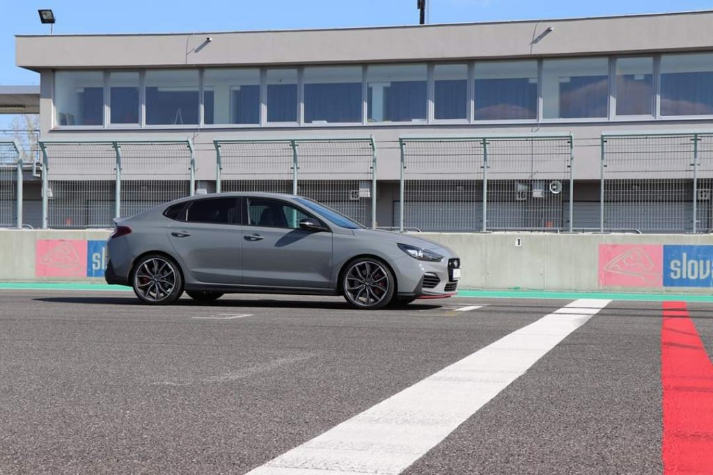 Hyundai i30 Fastback N Performance Slovakia Ring