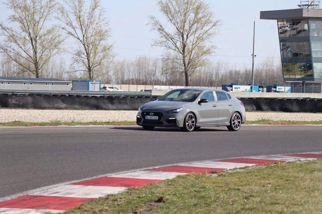 Slovakia Ring Hyundai i30 Fastback N Performance