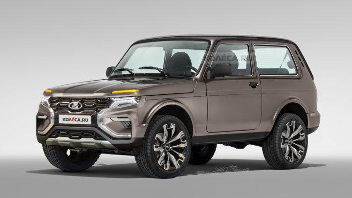 Takto by mohla vyzerať nová Lada 4×4.