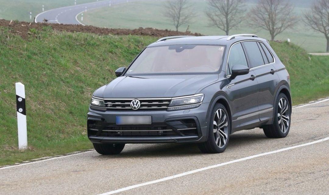 Volkswagen testuje Tiguan R. Aký motor bude pod kapotou?