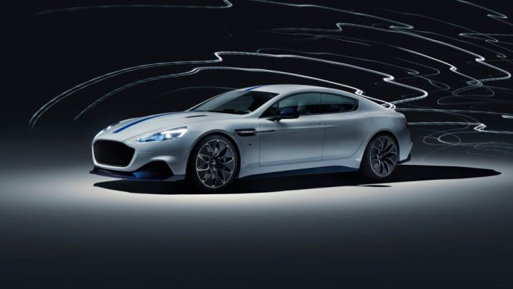 Na autosalóne v Šanghaji bol predstavený Aston Martin Rapide E.
