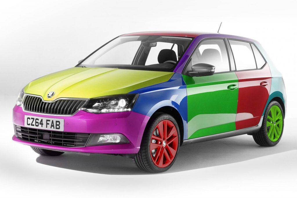 Vhodná farba auta