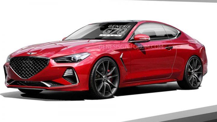 Takto by mohol vyzerať Genesis G70 Coupe.
