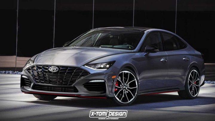 Takto by mohol vyzerať Hyundai Sonata N.