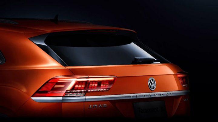 Volkswagen zverejnil fotku nového SUV Coupe.